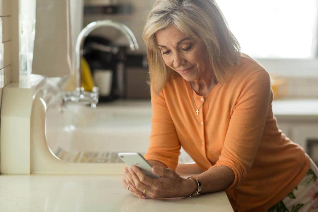 Mobile health wellbeing screening